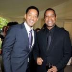 Will Smith (left) and Denzel Washington (right)