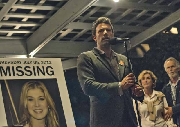 Rosamund Pike and Ben Affleck star in 'Gone Girl'