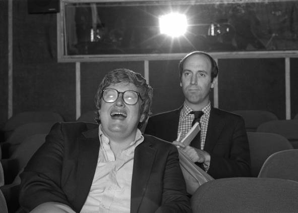 Film Critics Gene Siskel and Roger Ebert