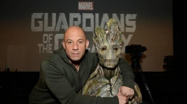 Vin Diesel is Groot in 'Guardians Of The Galaxy'