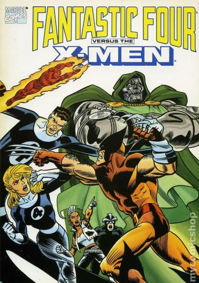 fantastic four vs xmen