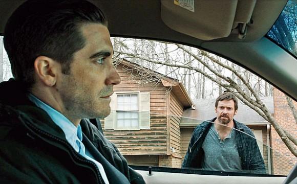 Prisoners (2013) (l to r) Jake Gyllenhaal and HUGH JACKMAN