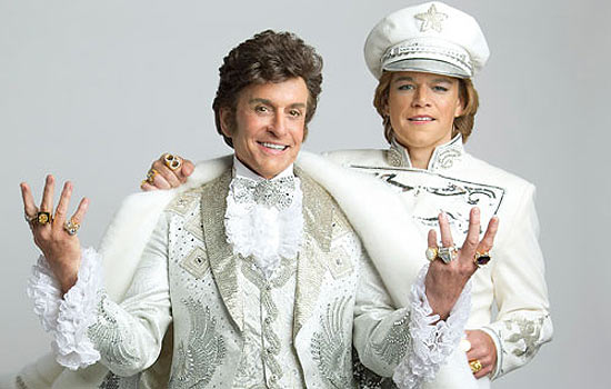 Michael Douglass (left) and Matt Damon in Steven Soderbergh's 'Behind the Candelabra'