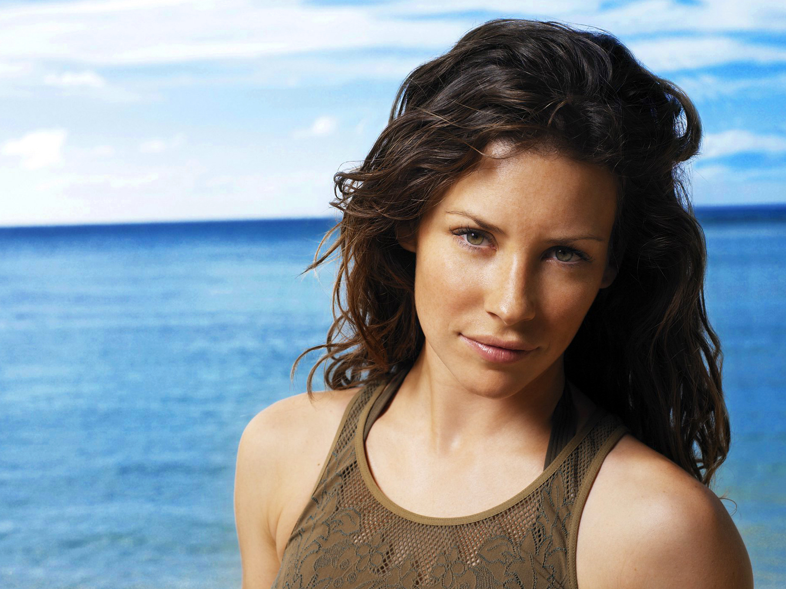 evangeline lilly with both - photo #16