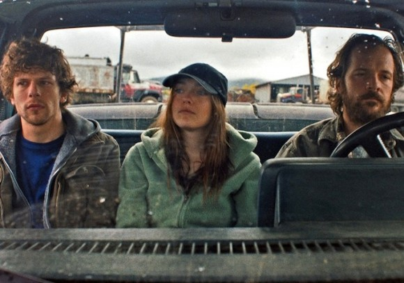 Jesse Eisenberg, Dakota Fanning and Peter Sarsgaard star in Cinedigm's 'Night Moves' (2014)