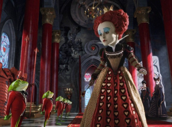 Helena Bonham Carter as The Red Queen in 'Alice in Wonderland'