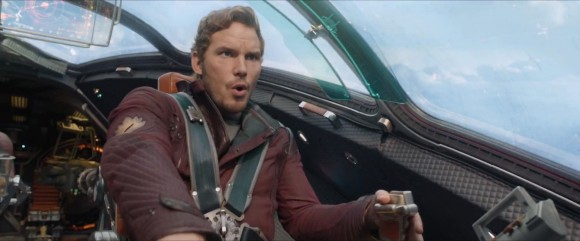 Chris Pratt as Star-Lord in Marvel's 'Guardians of the Galaxy'