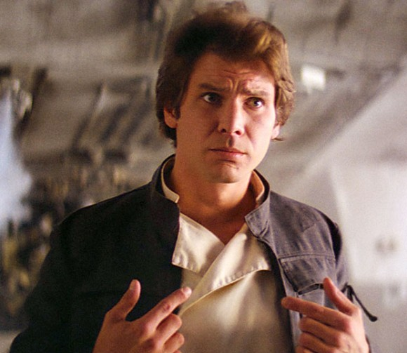 Harrison Ford as Han Solo in 'Star Wars Episode V: The Empire Strikes Back'