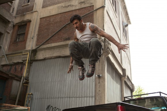 David Belle stars in Relativity Media's 'Brick Mansions.' Photo Credit: Philippe Bosse