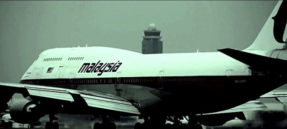 MH370, as seen in The Vanishing Act's trailer.