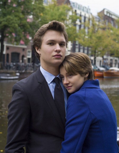 Ansel Elgort (left) and Shailene Woodley (right) in 'The Fault in Our Stars'