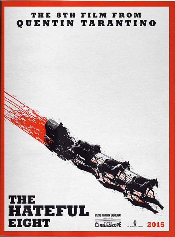Hateful Eight Poster