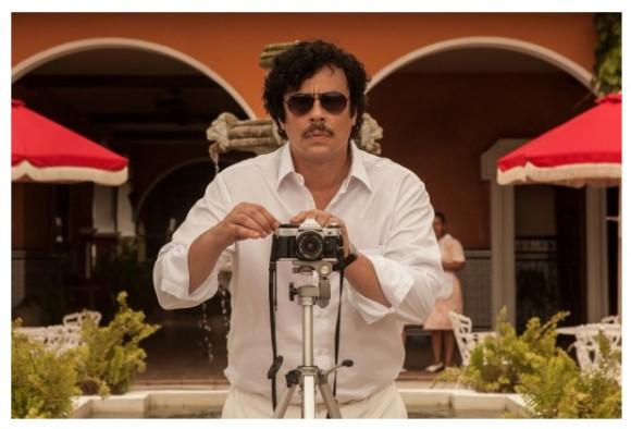 Benicio del Toro as Pablo Escobar in 'Paradise Lost'