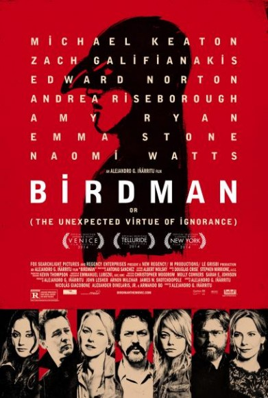 Official Poster for 'Birdman'