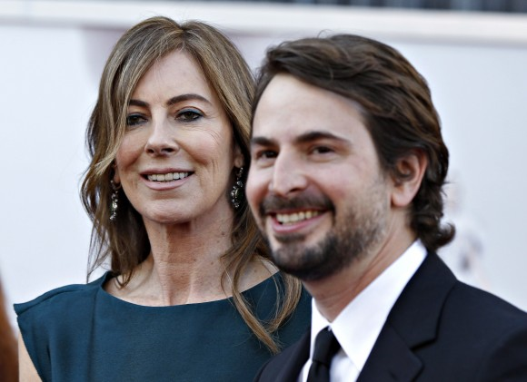Mark Boal (right) with frequent collaborator Katheryn Bigelow