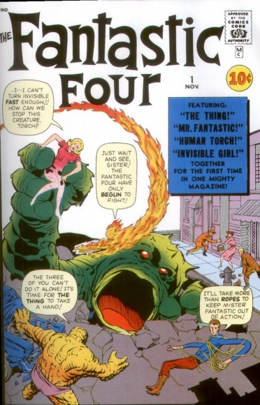 FantasticFout 1 Cover