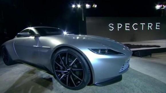 Bond's New Car, the Aston Martin DB10