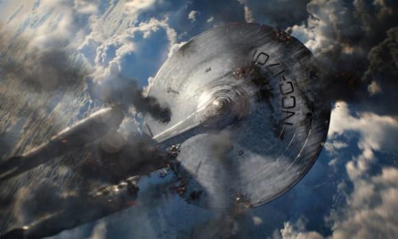 The Enterprise in Star Trek Into Darkness