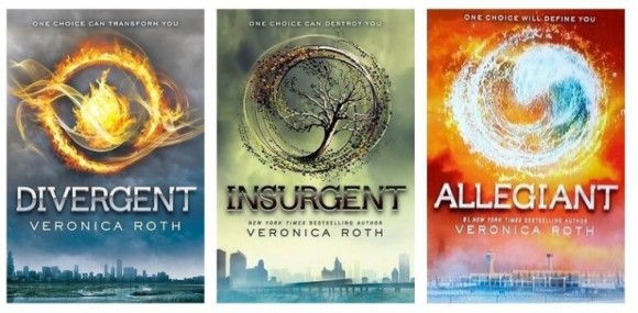 Divergent_book covers
