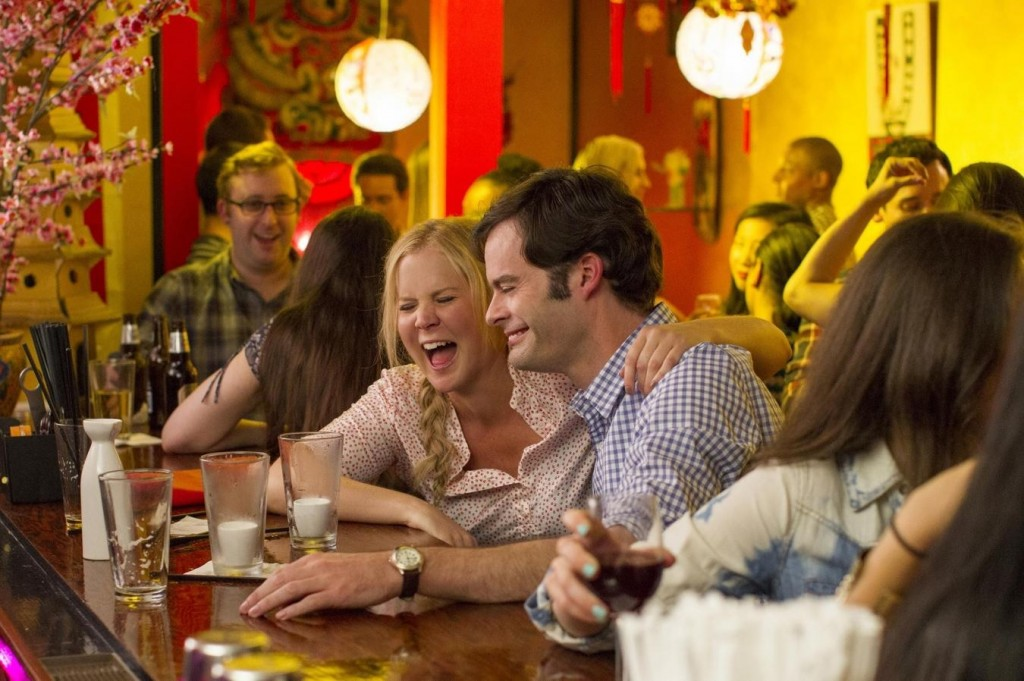 Amy Schumer and Bill Hader Take On the Modern Rom-Com in the 'Trainwreck' Trailer