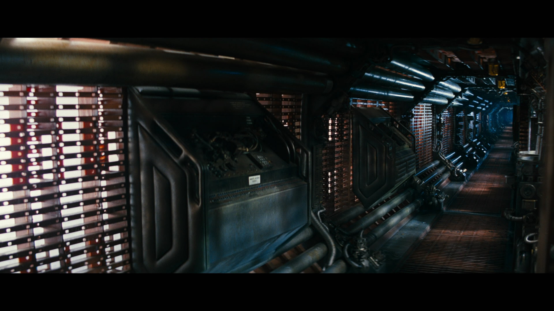 Sxblog from alien to alien isolation mxdwn movies for Interieur vaisseau spatial