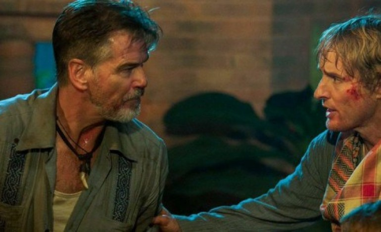 Owen Wilson and Pierce Brosnan Brace Themselves in 'No Escape' Trailer