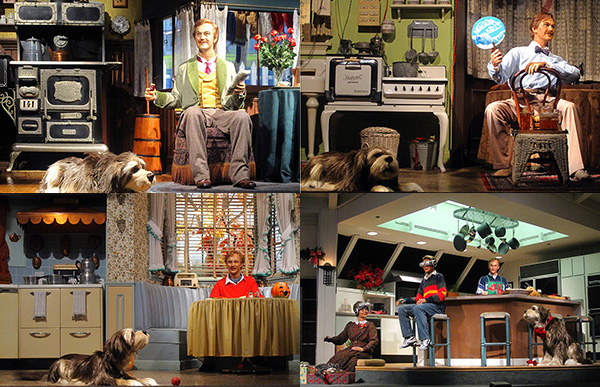 """Scenes from the """"Carousel of Progress"""""""