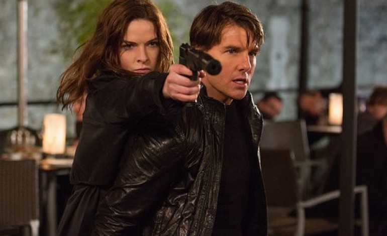 Ethan Hunt Hangs On to a Flying Airplane in the 'Mission: Impossible – Rogue Nation' Teaser