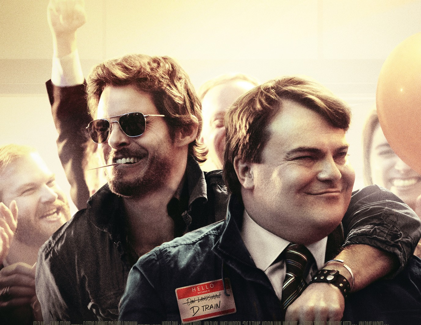 See Jack Black and James Marsden in 'The D Train' Trailer