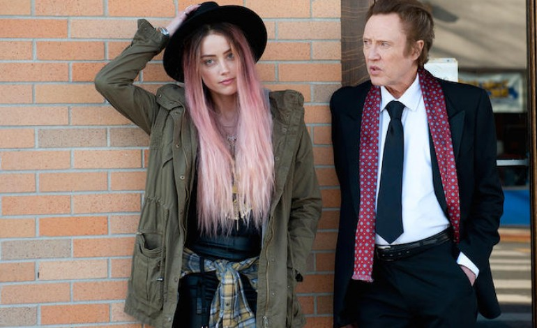 Amber Heard & Christopher Walken Sing For Their Film 'When I Live My Life Over Again'