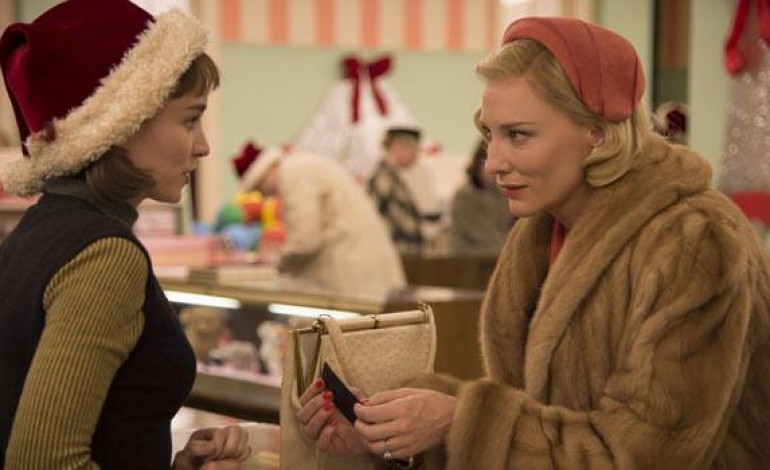 Cate Blanchett and Rooney Mara Begin an Illicit Affair in the First Clips from 'Carol'