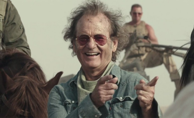 Here's the First Look at Bill Murray, Zooey Deschanel, and Bruce Willis in 'Rock the Kasbah'