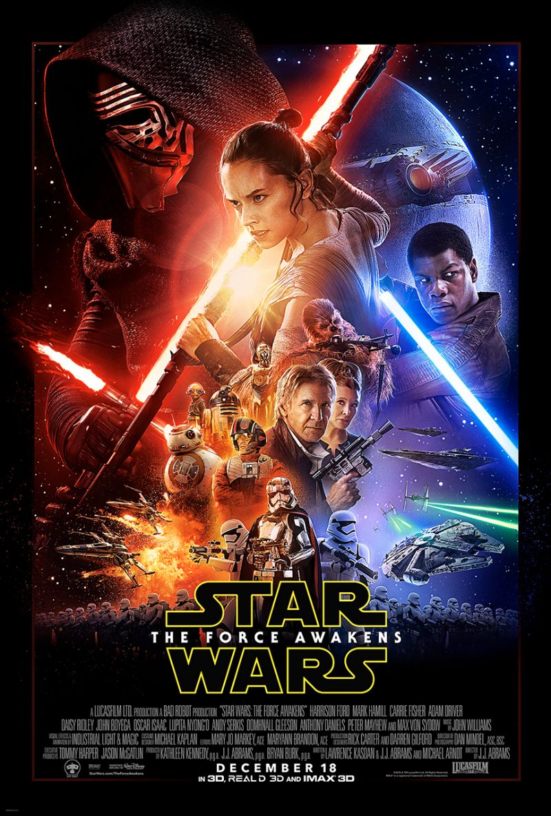 Official 'Star Wars: The Force Awakens' Poster.