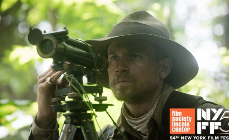 'The Lost City of Z' to Close the 54th New York Film Festival