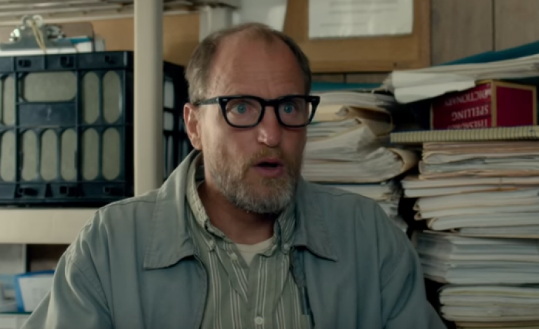 "Check Out the ""Positively Negative"" First Trailer for 'Wilson' Starring Woody Harrelson"