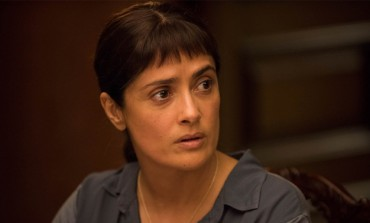 Salma Hayek and John Lithgow Spar in 'Beatriz at Dinner'
