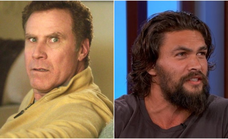 Paramount Acquires Comedy, Set to Star Will Ferrell and Jason Momoa