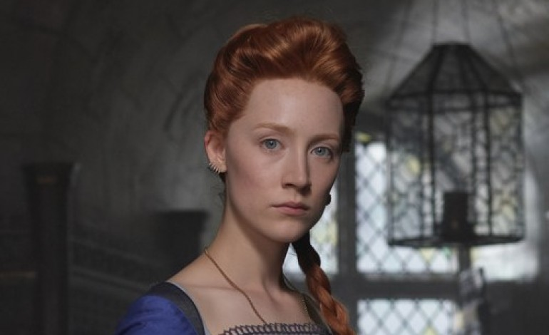 Saoirse Ronan serves royal realness in first Mary, Queen of Scots image