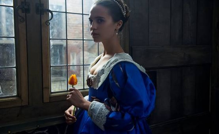 Alicia Vikander And Dane DeHaan Steam Up 'Tulip Fever' Trailer