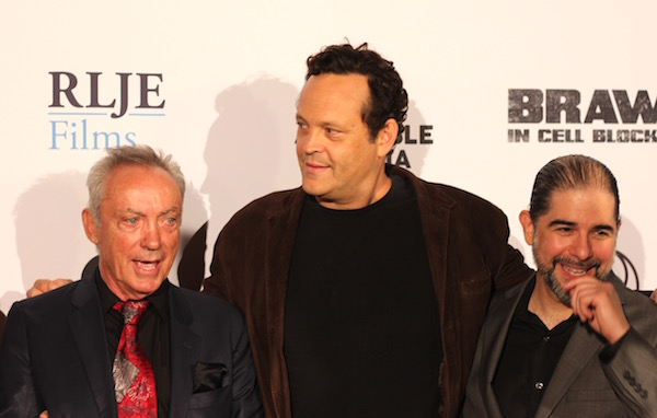 Udo Kier, Vince Vaughn, and S. Craig Zahler (Photos by Shelby Fujioka)