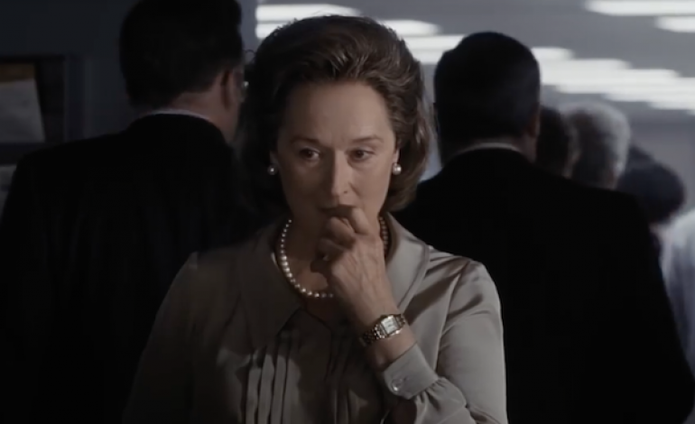 Trailer Unveiled for Steven Spielberg's 'The Post'