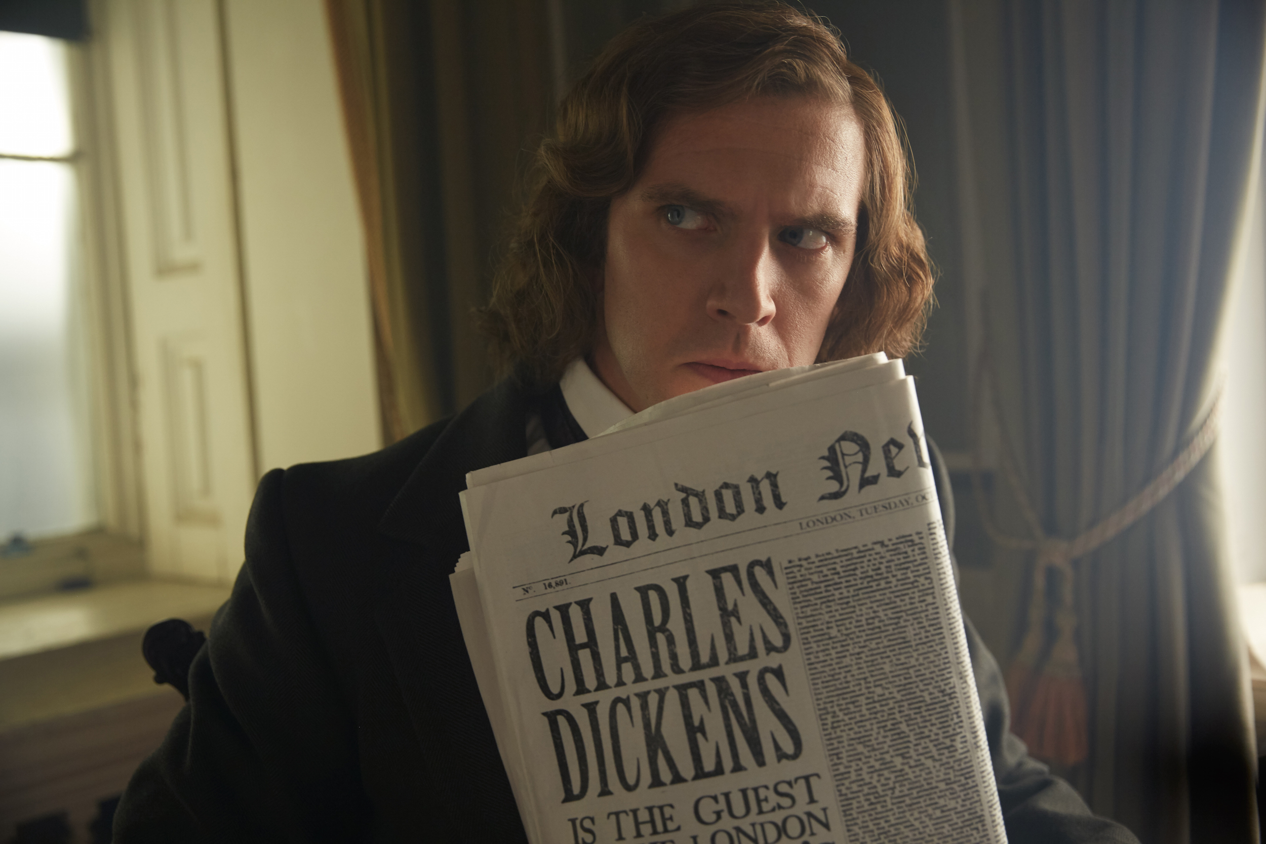 Movie Review - 'The Man Who Invented Christmas'