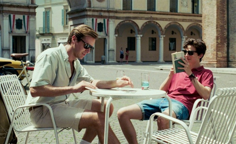 Six nominations at Spirit Awards for Call Me By Your Name