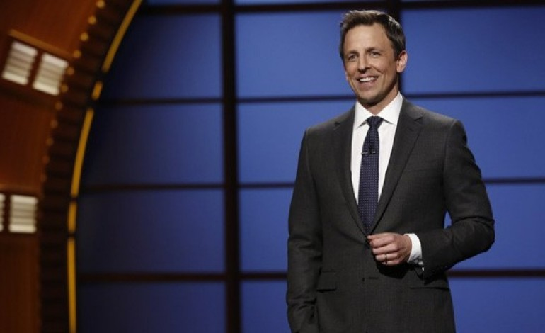 Seth Meyers to host Golden Globe Awards 2018