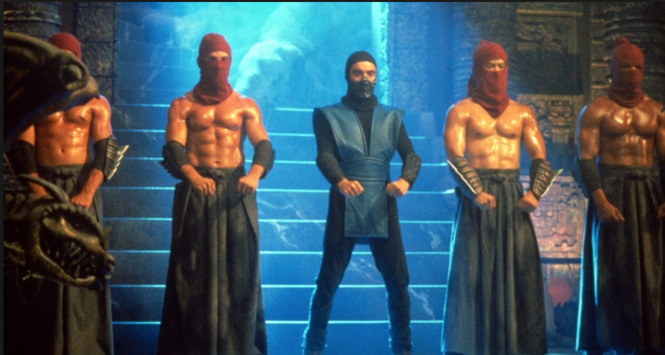 original mortal kombat movie characters