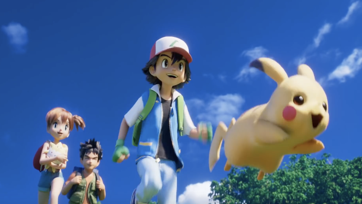 Pokemon Mewtwo Strikes Back Cgi Remake Gets New Trailer And