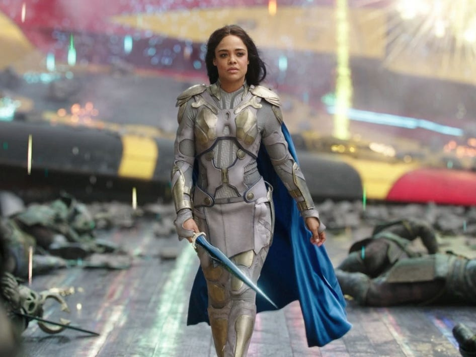 Tessa Thompson Expresses Excitement on Christian Bale Casting For 'Thor:  Love and Thunder' - mxdwn Movies